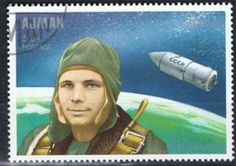 Yuri Gagarin (1934-1968), Soviet air force officer and cosmo