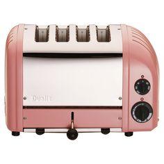 Kitchen Helpers NewGen 4-slice Toaster in Petal Pink #kitchen #appliance jossandmain.com