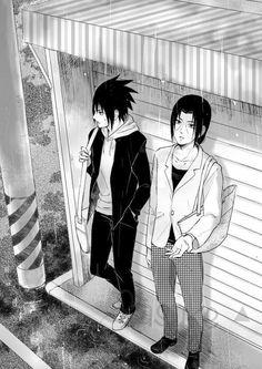 anime, naruto, and sasuke uchiha 이미지