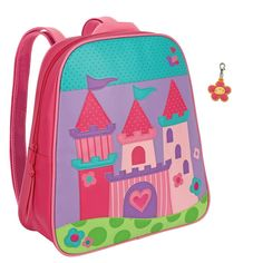 Stephen Joseph Princess Castle Backpack with Zipper Pull - Girls Backpacks >>> Click image to review more details. (This is an Amazon Affiliate link and I receive a commission for the sales)