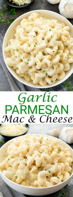 Parmesan Macaroni and Cheese Creamy Garlic Parmesan Macaroni and Cheese. A grown-up mac & cheese that is just as easy to make as the classic.Creamy Garlic Parmesan Macaroni and Cheese. A grown-up mac & cheese that is just as easy to make as the classic. Vegetarian Recipes, Cooking Recipes, Healthy Recipes, Casseroles Healthy, Pork Recipes, Vegetarian Options, Vegan Meals, Cooking Rice, Easy Cooking
