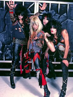 10 Style Tips Learned from Mötley Crüe| Motley Crue, Nikki Sixx, Tommy Lee, Vince Neil