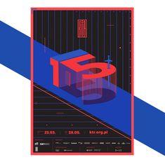 KTR Competition (Polish Creativity Festival) on Behance Graphic Design Posters, Graphic Design Typography, Graphic Design Illustration, Logo Design, Print Design, Communication Design, Typography Poster, Grafik Design, Cool Posters