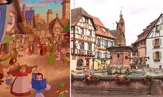 18 Beautiful Locations That Inspired Disney Movies - 9GAG