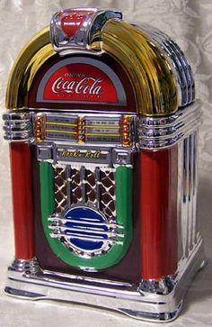 Coca-Cola Jukebox | Coca Cola JukeBox Cookie Jar