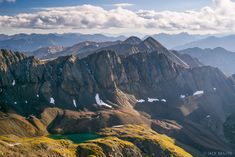 14er,Colorado,Handies Peak,San Juan Mountains, Sloan Lake, Jones Mountain, Niagara Peak, La Plata Mountains http://www.mountainphotographer.com/handies-peak/