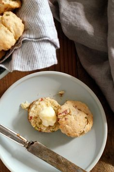 NYT Cooking: These rich, savory biscuits are even better than the traditional ham and cheese variety. Bits of chopped salami and scallions are scattered throughout tender dough that's been enriched with heavy cream. Did we mention that they come together – start to finish – in about 45 minutes? They'll be gone in about five.