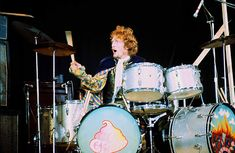 Ginger Baker, one of Rock's most Gifted Drummers who helped form the SuperGroup 'Cream' with Eric Clapton and Jack Bruce. Has Died at the Age of Cream Eric Clapton, Ginger Baker, Color Del Pelo, Jack Bruce, Ludwig Drums, Drum Solo, Blind Faith, Jim Morrison, Jimi Hendrix
