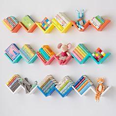 Origami Wall Shelf (Yellow) | The Land of Nod