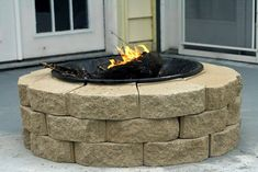 inexpensive, and easily movable firepit