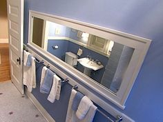 Framed Bathroom Mirror Ideas
