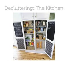 Pantry organization. Love the chip bags for easy lunch access.