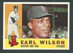 Earl Wilson Boston Red Sox 1960 Topps Card #249 RC #BostonRedSox
