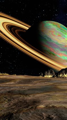 Find the best Saturn Wallpaper on GetWallpapers. We have background pictures for you! Outer Space Wallpaper, Planets Wallpaper, Galaxy Wallpaper, Wallpaper Backgrounds, Iphone Wallpaper, Space Planets, Space And Astronomy, Space Artwork, Sistema Solar