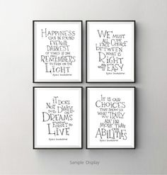 We must all face the choice Albus Dumbledore by SimpleSerene