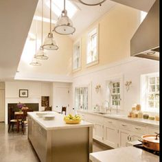 Wow! Could we do this with the extension part of the kitchen somehow? Some version of this?