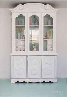 repurposed china hutch