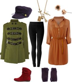 """Princess Anastasia Everyday Inspired Look"" by fashionofyourife on Polyvore"