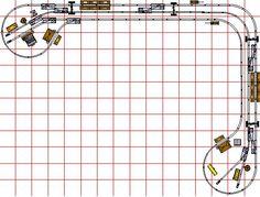 shelf model railway layouts