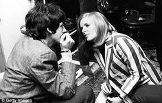 Paul and Linda at Sgt Pepper launch