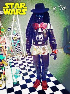 K.Dee  x  StarWars  1/6  Fashion Doll  Micheal Jackson   X    Darth  Vader
