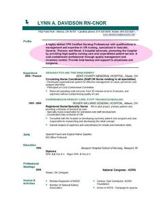 Nursing Objectives For Resume When It's Ok To Use A Resume Objective Statement  Pinterest .