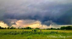 13. Melissa Bussey took this shot of a tornado touchdown in Oklahoma.
