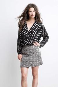 Top dot print skjorte fra Summum - Køb den her >>
