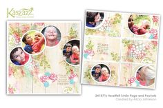 2H1871s Heartfelt Smile Page and Pockets