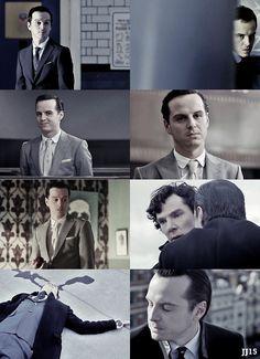 Best bad guy ever!   Professor Moriarty.