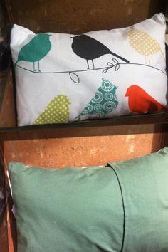 Gorgeous little bird cushion. $15 plus postage.