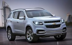 Chevrolet Trailblazer 2012  Too bad it didn't make it into production