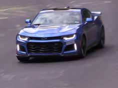 Chevrolet's new bruiser Camaro looks at home on the green hell. http://www.hotrod.com/news/1605-watch-the-2017-chevy-camaro-zl1-hustle-through-nurburgring?utm_source=rss&utm_medium=synergetic&utm_campaign=RSS