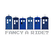 'Fancy a ride?' by nath-gary Geek Decor, Tardis, Doctor Who, Nerd, Fancy, Clothes, Outfits, Clothing, Clothing Apparel