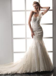 Maggie Sottero Designer wedding dresses and bridal gowns Wedding Dress 2013, Wedding Dress Train, Lace Mermaid Wedding Dress, Princess Wedding Dresses, Perfect Wedding Dress, Mermaid Dresses, Bridal Dresses, Wedding Gowns, Mermaid Gown