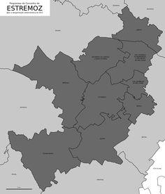 Freguesias do concelho de Estremoz