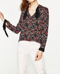 Image 4 of FLORAL TOP from Zara