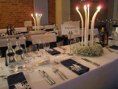 Winter wedding theme at Dodmoor