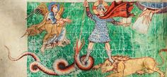 More details depiction of Christ as a heroic warrior (Stuttgart Psalter, fol. From WikiMedia. Merovingian, High Middle Ages, Gothic Culture, Germanic Tribes, Monthly Themes, Dark Ages, Fantastic Art, Illuminated Manuscript, Pagan