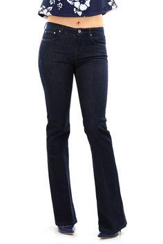 jeans in cotone elasticizzato a cinque tasche con gamba svasata. COLORE: UNICO REPARTO: Abbigliamento STILISTA: TWIN-SET SIMONA BARBIERI