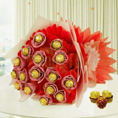 Same Day Delivery Gifts: Send chocolates, flowers, birthday, and cake gifts online India at same day for him/her. We serve same day gifts delivery at reasonable price. Cheap Chocolate, Chocolate Gifts, Chocolate Box, Ferrero Rocher Bouquet, Ferrero Rocher Chocolates, Send Chocolates, Chocolates Online, Same Day Delivery Gifts, Chocolate Delivery