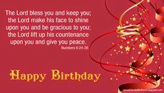 Christian Birthday Quotes Happy Wishes Blessings
