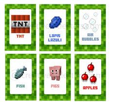 Minecraft Food Label Google Search Labels Party
