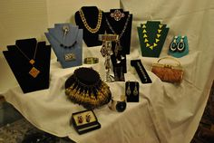 Art deco jewelry - breathtaking! Look at the close-ups in this photo gallery. The Barn Attic barnattic@aol.com  215-256-9305