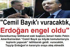 """GKurmay İstihbarat Eski Başkanı I.Hakki Pekin: """"Cemil Bayik'i vuracaktık,Erdoğan engel oldu"""""""
