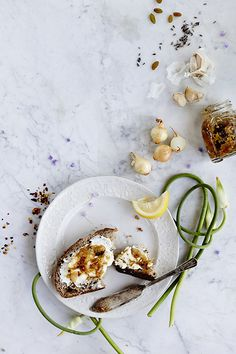 Charred Garlic Scape & Pearl Onion Chutney | An equal parts sweet, bitter and floral end-of-summer spread that perks up grilled sandwiches, whole-grain salads and cream cheese toast like nobody's business.