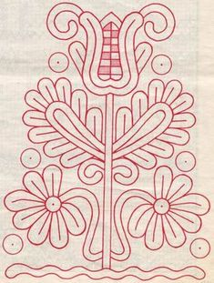 Hungary. Írásos. Chain Stitch Embroidery, Embroidery Stitches, Embroidery Patterns, Machine Embroidery, Hungarian Embroidery, Folk Embroidery, Learn Embroidery, Stitch Head, Antique Quilts
