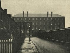 An poster sized print, approx mm) (other products available) - A side view of one of the blocks of the Poplar Union workhouse, located on Poplar High Street, East London. - Image supplied by Mary Evans Prints Online - poster sized print mm) made in the UK Victorian London, Vintage London, Old London, Victorian Life, Old Pictures, Old Photos, London History, Uk History, Modern History