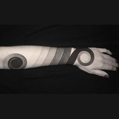 dot work tattoo that spirals the arm - Google Search