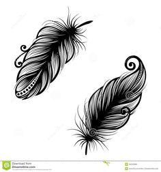 Oiseau abstrait de plume                                                                                                                                                                                 Plus